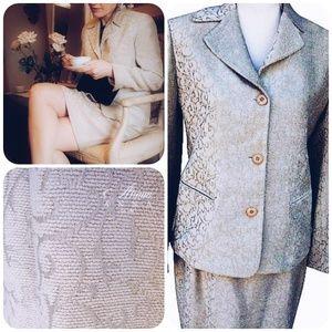 Emanuel Ungaro Skirt Suit